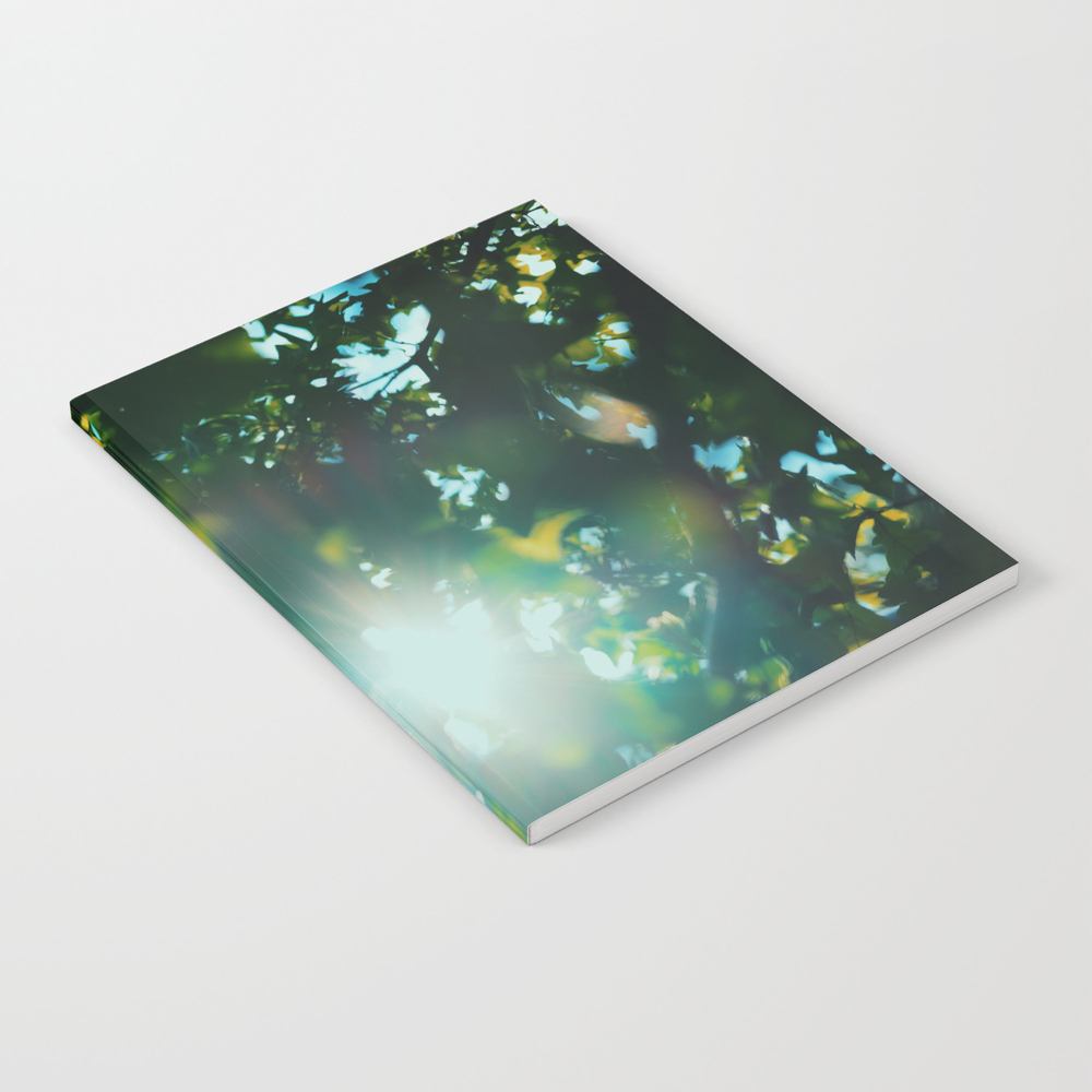 Summer Sun! Notebook by Sleeperphotography