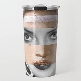 Michelangelo's Sybilla Delfica & Bette Davis Travel Mug