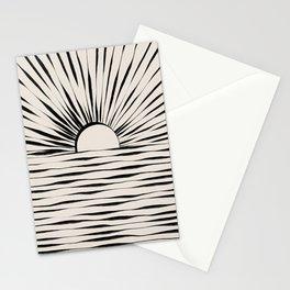 Minimal Sunrise / Sunset Stationery Cards