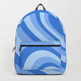 Beating Heart Blue Backpack