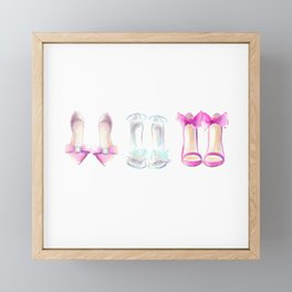Shoes no 2 Framed Mini Art Print