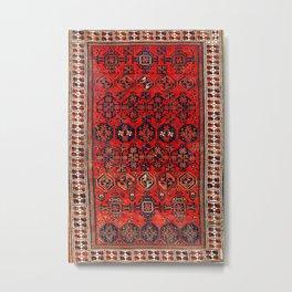 Baluch Khorasan Persian  Antique Rug Print Metal Print