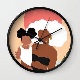 Juneteenth Wall Clock