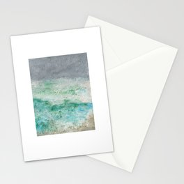 Brielle1 Seashore Oil Pastel Drawing Stationery Cards