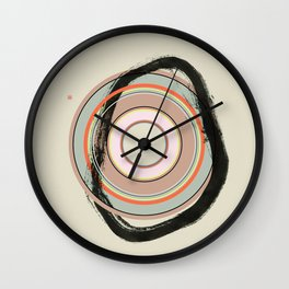 Weigh In (Etude Circulaire n° 10) Wall Clock