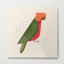 Australian King Parrot, Bird of Australia Metal Print