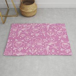 Pink Flash Rug