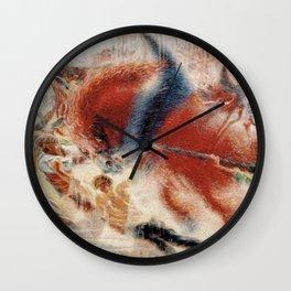 The City Rises, Umberto Boccioni, Futurism Wall Clock