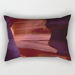 Antelope Slot Canyon With Mystical, Magical Wonder Rectangular Pillow