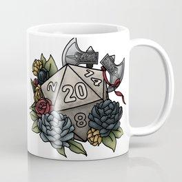 Barbarian Class D20 - Tabletop Gaming Dice Coffee Mug