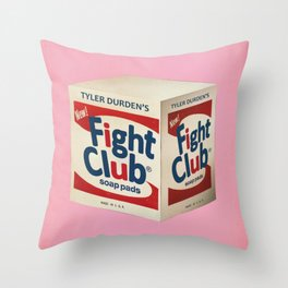 Fight Shot Throw Pillow