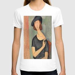 "Amedeo Modigliani ""Jeanne Hébuterne (Au chapeau)"" T-shirt"