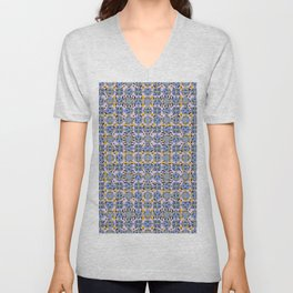 Clouds And Light Sparks Unisex V-Neck