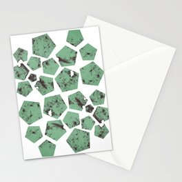 Pentagons of May 26 Stationery Cards