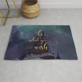 Be what you wish. Kingdom of Ash Rug