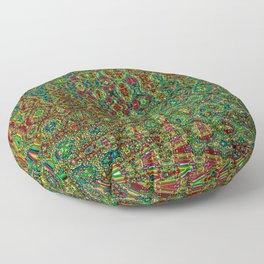 Mosaic Abstract Floor Pillow