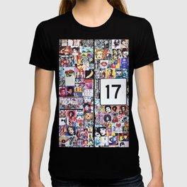 Piazza Duca di Genova 17 in Catania - Sicily T-shirt