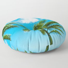 3 Palms Floor Pillow