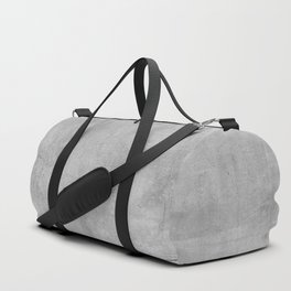 Black and Gold grunge stripes on modern grey concrete abstract backround I - Stripe - Striped Duffle Bag