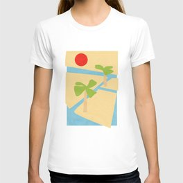 Irrigation and palms (Egyptian series) T-shirt