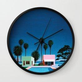Hiroshi Nagai Art Print Poster Vaporwave Aesthetic Wall Clock