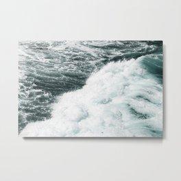 The Ocean Metal Print