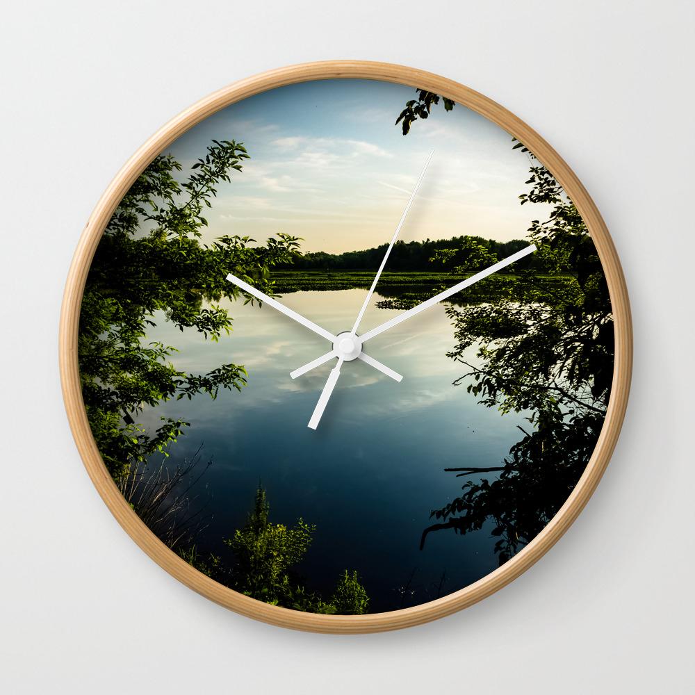 Vibrant Nature Wall Clock by Dantakespics CLK7821948