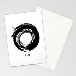 Zen Enso Circle Stationery Cards