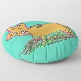 Pig Vector Selection Floor Pillow