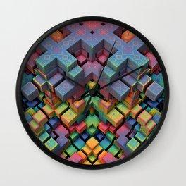 Mindcraft Wall Clock