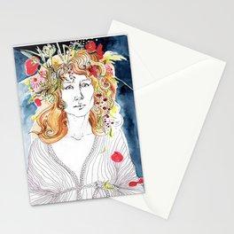 Melancholy summer Stationery Cards