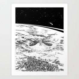 Space upon us Kunstdrucke
