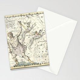 Constellations Bootes, Canes Venatici - Celestial Atlas Plate 7 Alexander Jamieson Stationery Cards