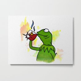 That's none of my business Metal Print