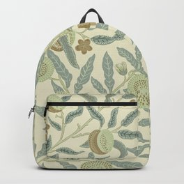 Fruit or Pomegranate by William Morris  Backpack