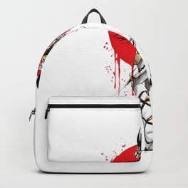 Samurai Woman Backpack