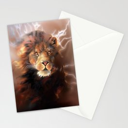 Lion Chocolate Stationery Cards