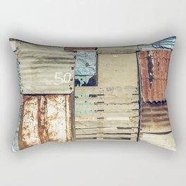 arquitectura de crisis Rectangular Pillow