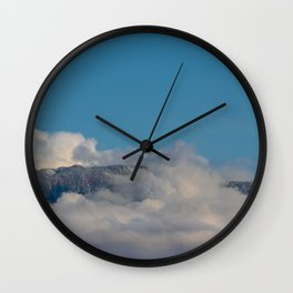 Desert Mountain Snow 0329 Wall Clock