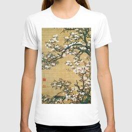 Ito Jakuchu - Malus Halliana And White-eye - Digital Remastered Edition T-shirt