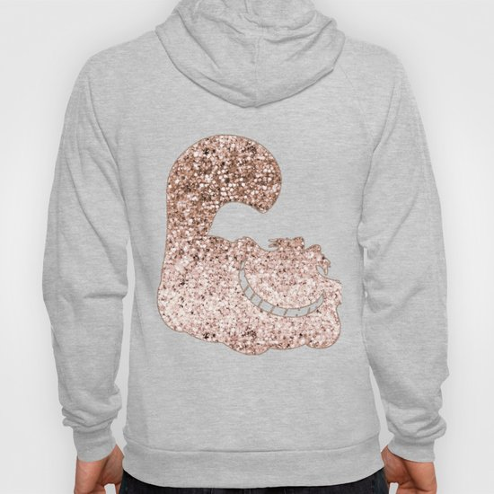 Sparkling rose gold Cheshire Cat by roseaesthetic