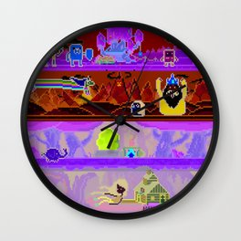 Adventure Game Wall Clock