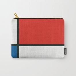 Composition II en rouge, bleu et jaune, Piet Mondrian, 1930 Carry-All Pouch