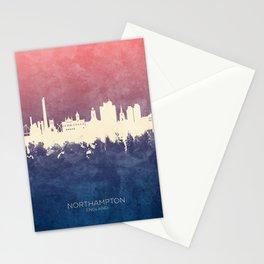 Northampton England Skyline Stationery Cards
