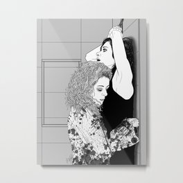 Orphan Black - Sarah/Helena S2 Shower Scene (Original Artwork Print) Metal Print
