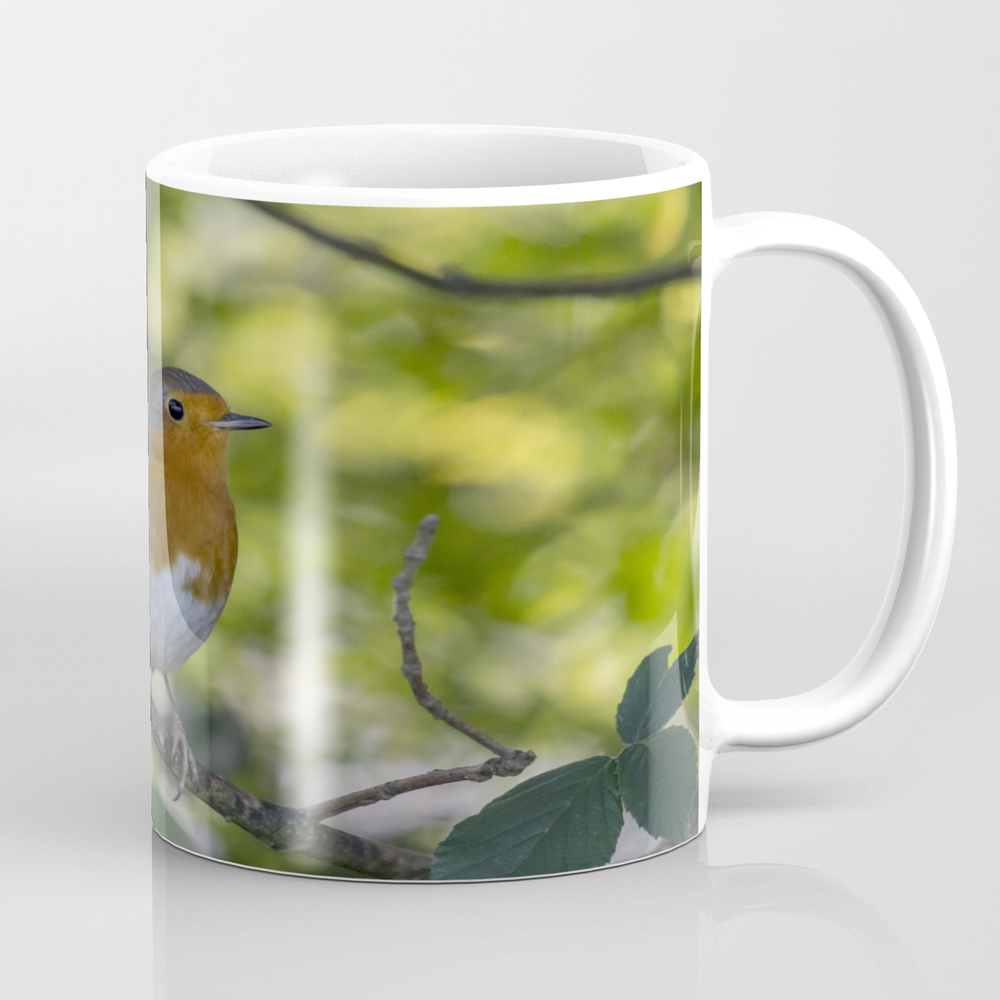 Robin Redbreast. Mug by Angelaairdphotography (MUG7677595) photo
