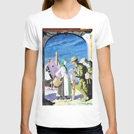Adam and Eve at Peronne - Sir William Orpen T-shirt