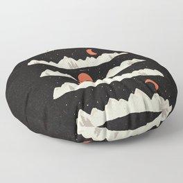 Moonrises...Moonsets... Floor Pillow