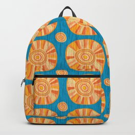 Sunshine repeat pattern to warm your heart Backpack