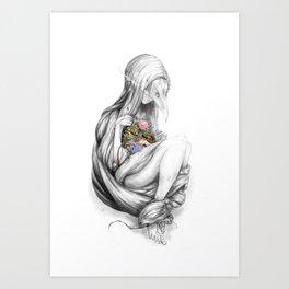 Bower Bird Art Print